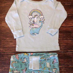 Unicorn Dinosaur Pajamas